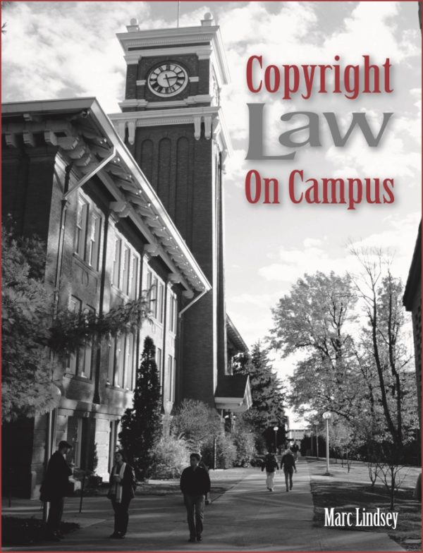 copyright law on campus book cover