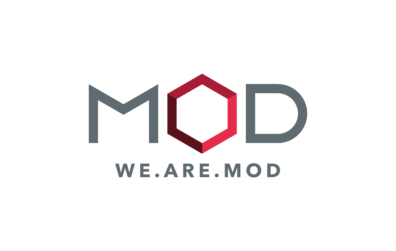We are MoD logo for the Masters of Design student group.