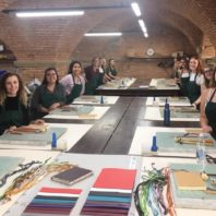 "Interior Design students discover the ""culture of making"" in Florence during study abroad in Fall 2019."