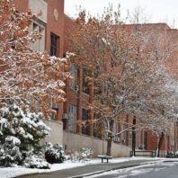 Spokane Street and Dana Hall.