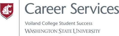 Logo Career Services, Voiland College Student Success, Washington State University.