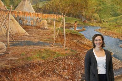 Kristine Leier, museum curator, Nez Perce National Historical Park..