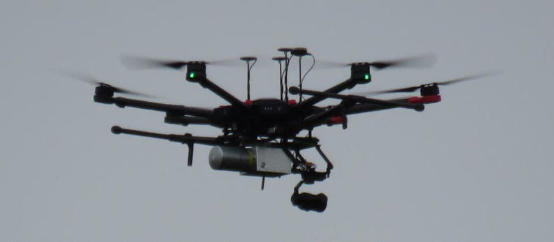 Unmanned aerial vehicle airborne