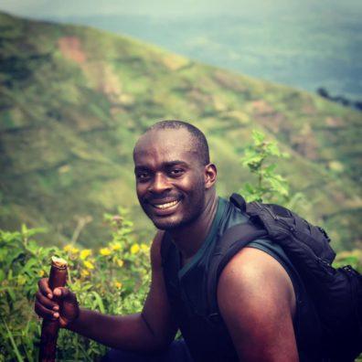 Picture of Lambert Ngenzi in Uganda