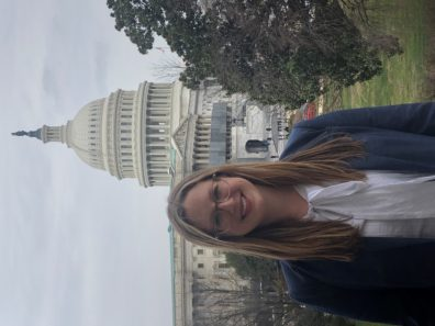 Picture of woman in DC