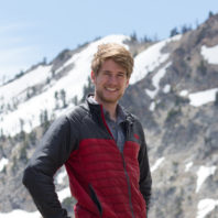 Dylan Quinn in a snowy landscape
