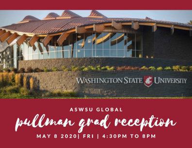 Graphic: Pullman Graduation Reception.