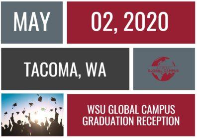 Graphic: Tacoma Graduation Reception May 2.