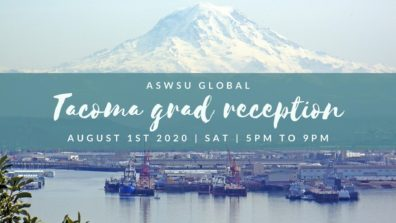 Graphic: Tacoma Grad Reception August 1 2020.
