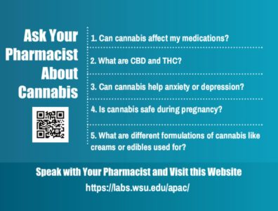 Ask Your Pharmacist About Cannabis