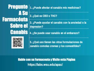 Pregunte A Su Farmaceuta Sobre el Canabis