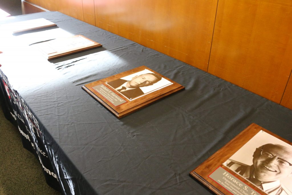 Department chair plaques