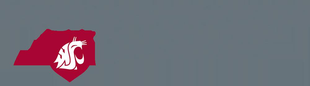 Logo: Washington State University.