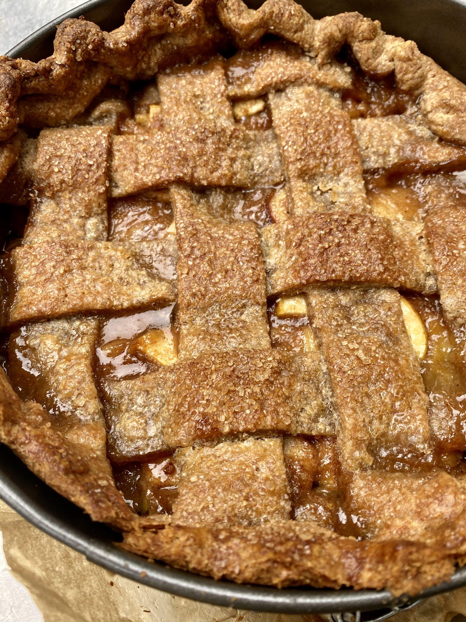 lattice crust pie