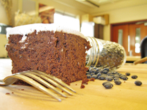 Cake that made from black beans