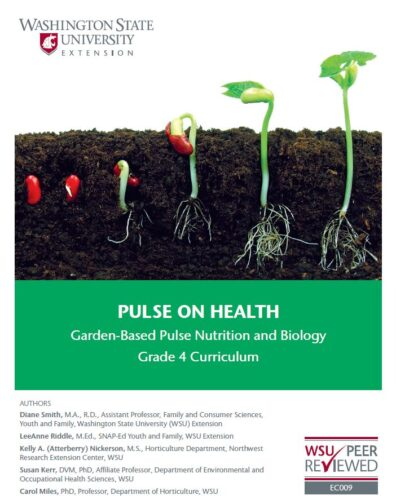 Pulse on health curriculum cover page.