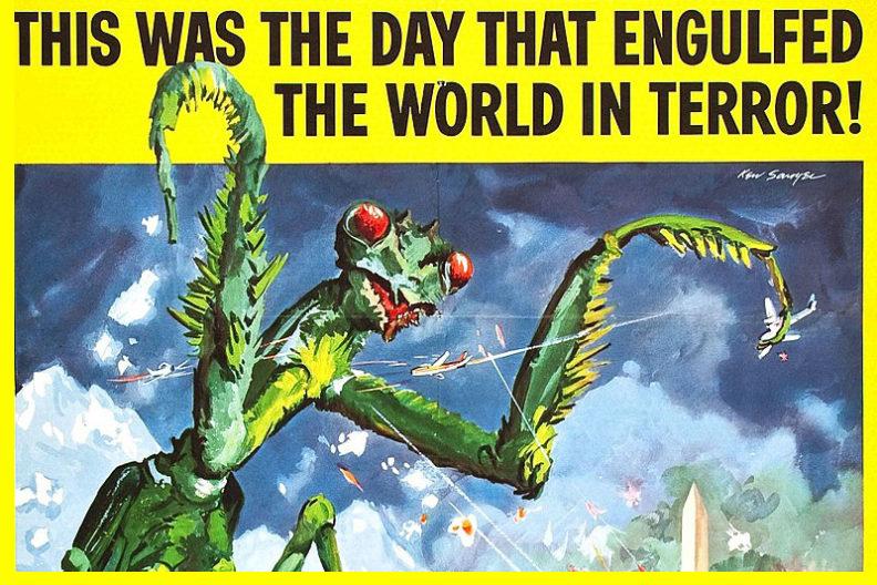 The Dangerous Mantis movie poster