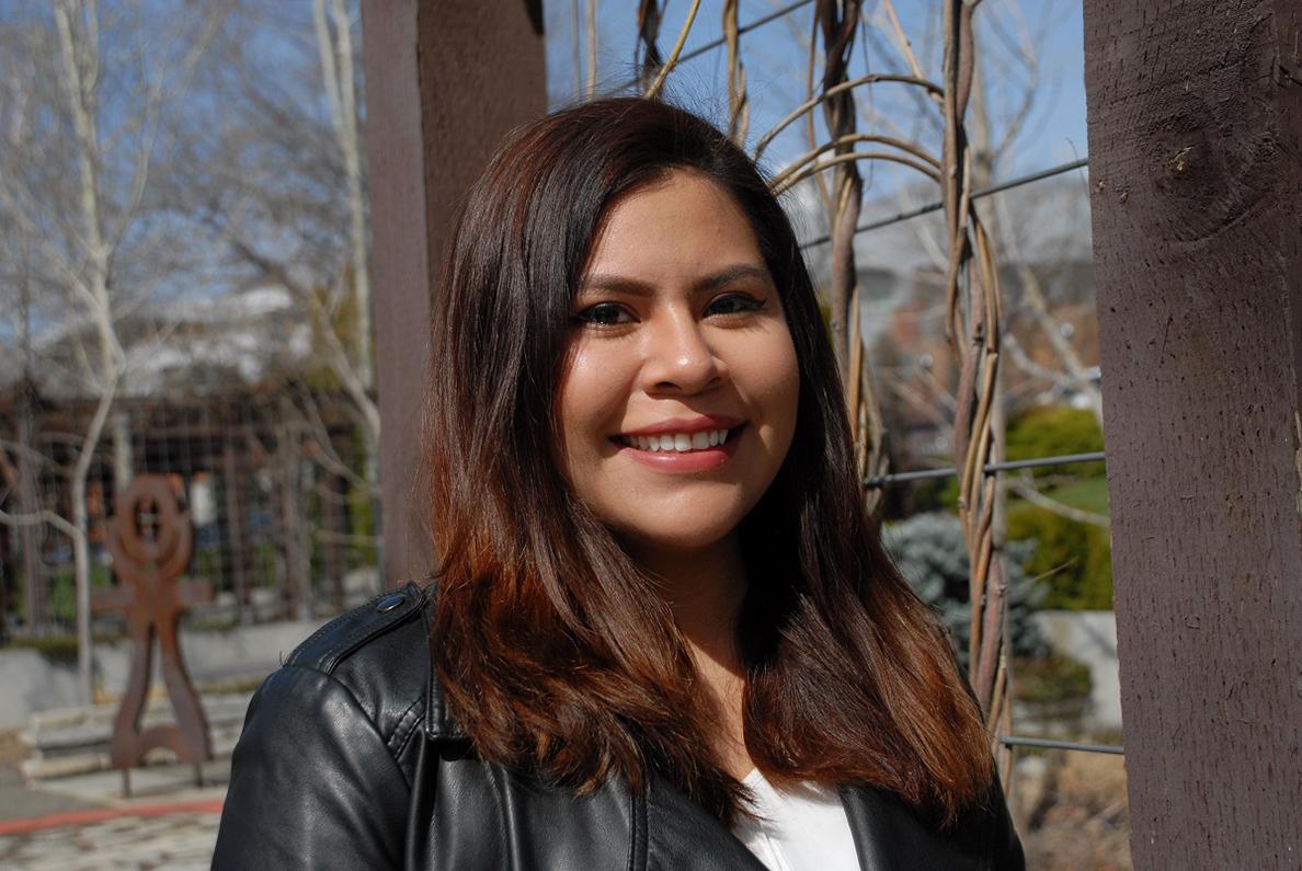 Jackie Baltazar 2018 WSU Student Employee of the Year