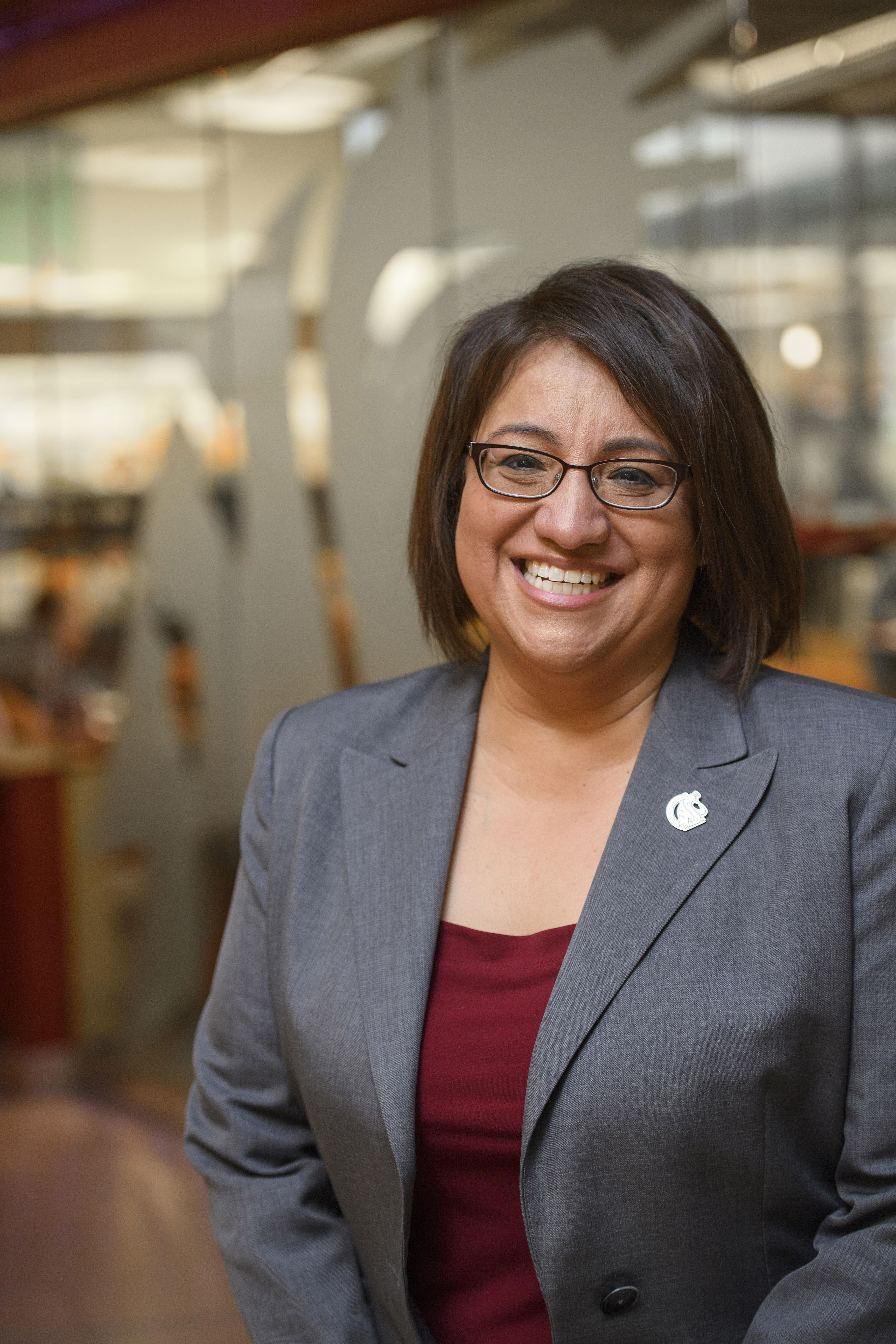Mary Jo Gonzales in profile