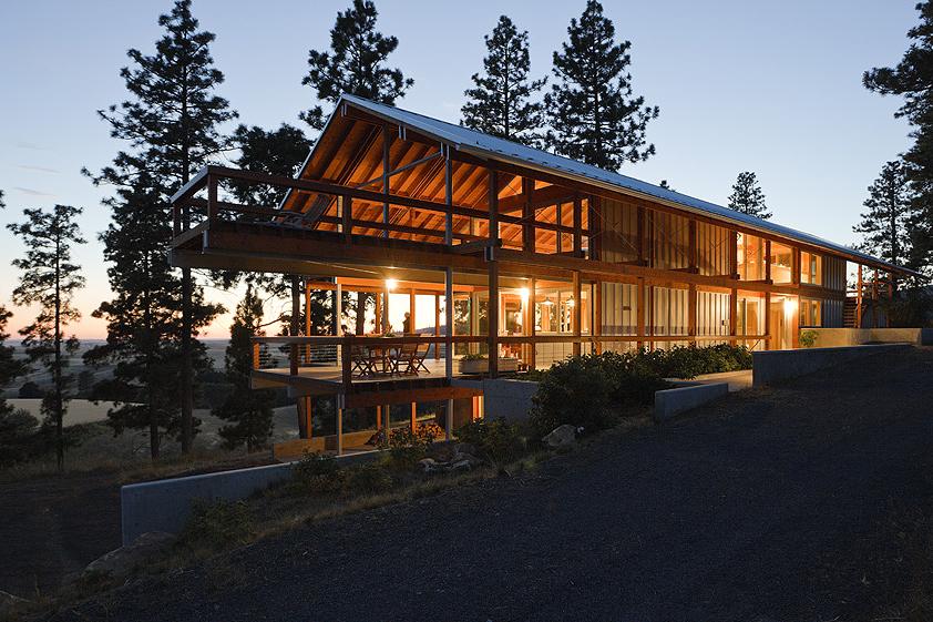 Mountain House, designed by Paul Hirzel