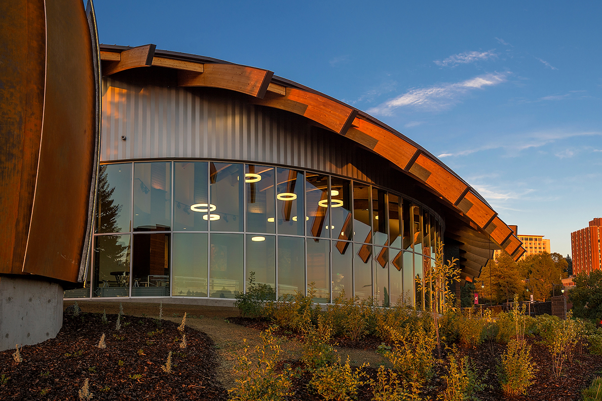 Exterior of the Elson S. Floyd Cultural Center.