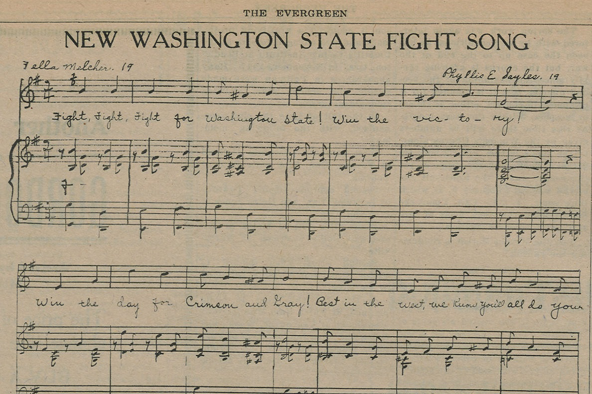 sheet music of song