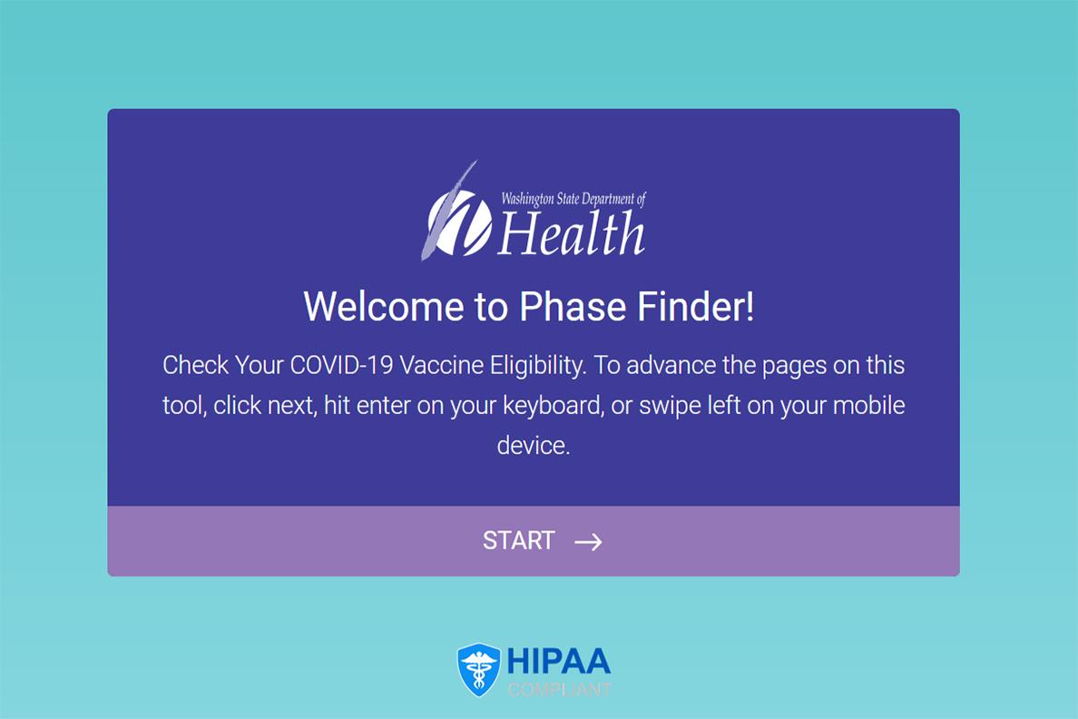 screenshot of phase finder