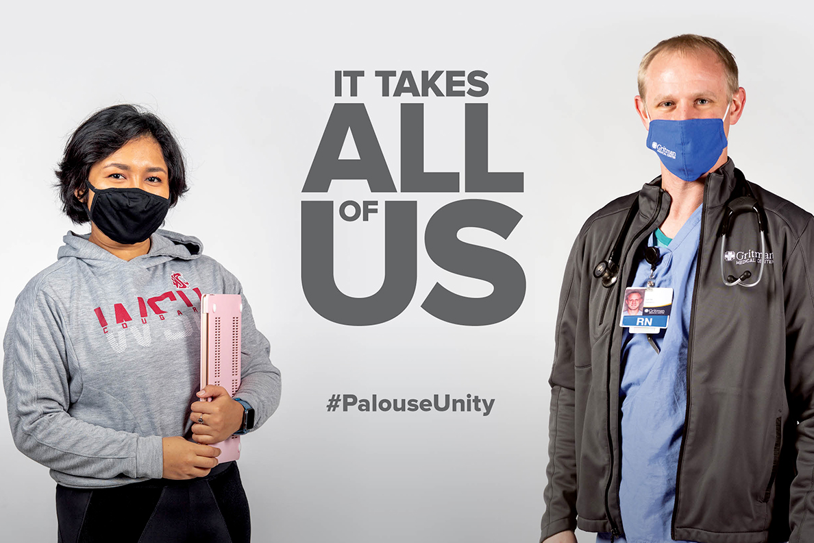 It takes all of us. #PalouseUnity.