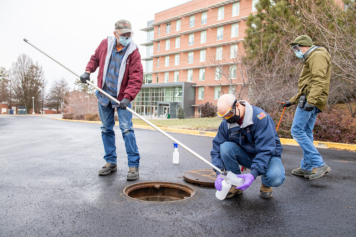wastewater sample collection