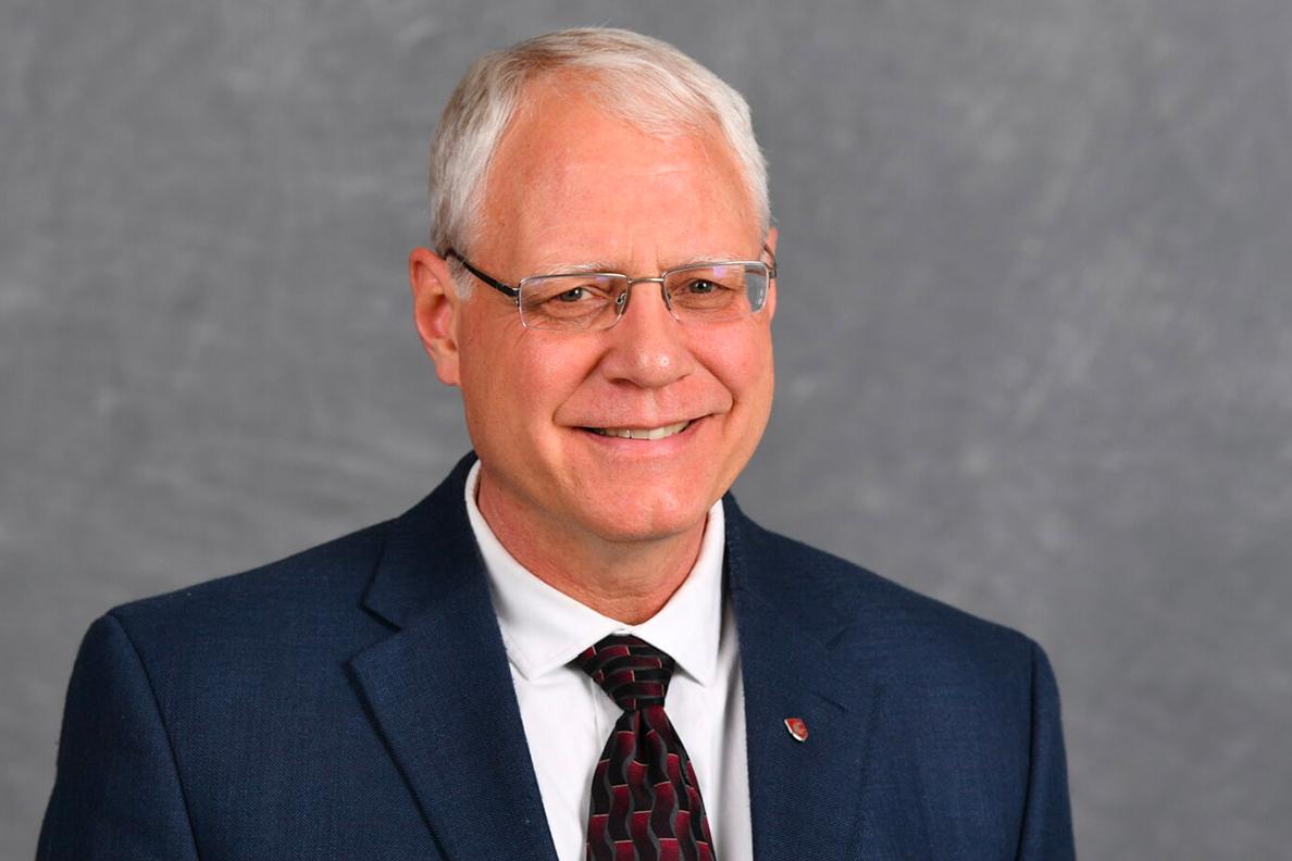 Closeup of Bernie Van Wie.