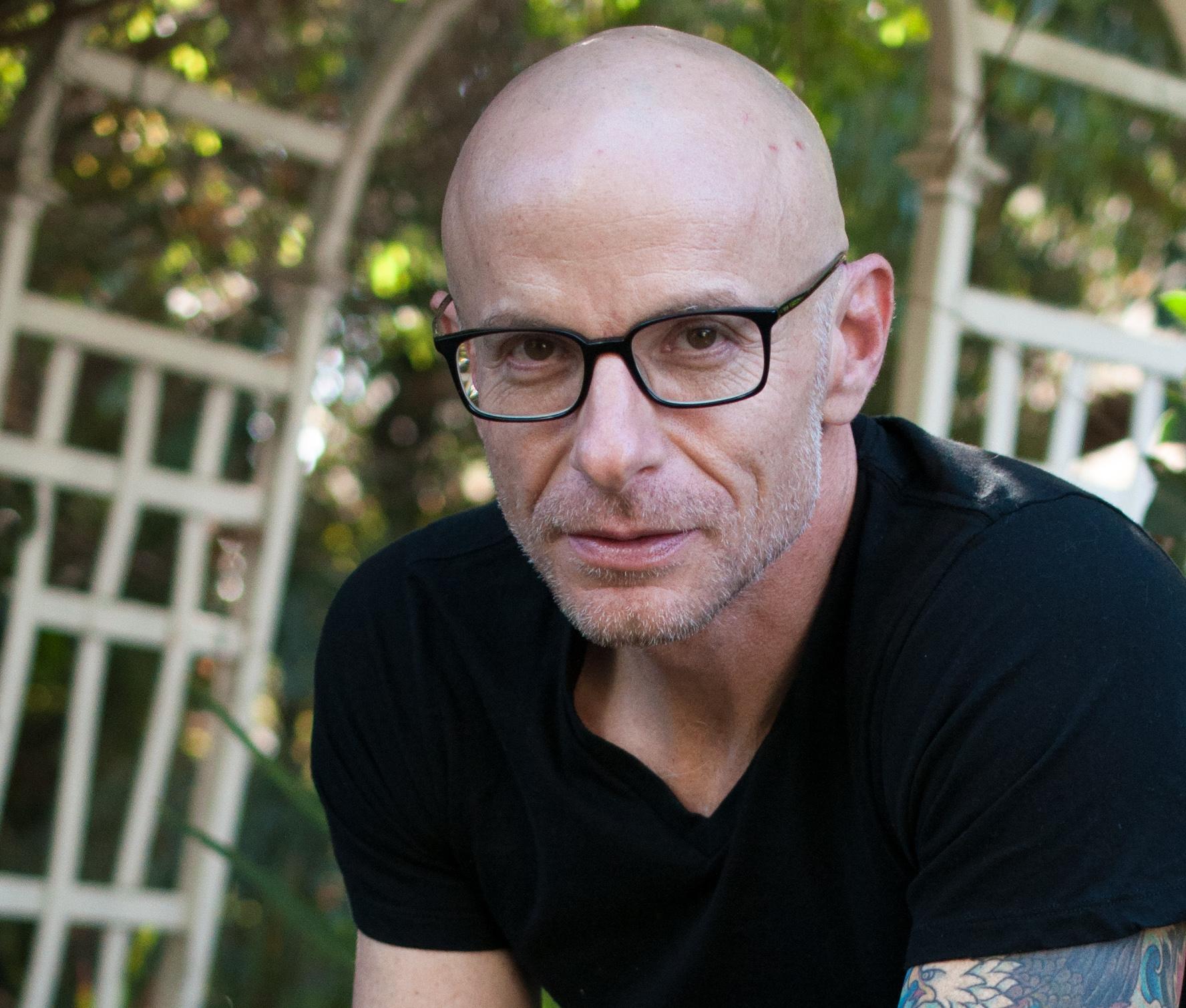 Closeup of David Treuer