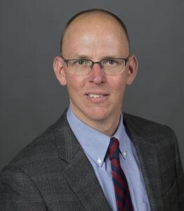 Closeup of Michael Brady