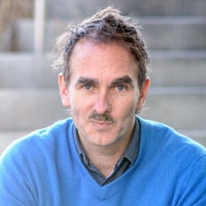 Closeup of Brian Blanchfield