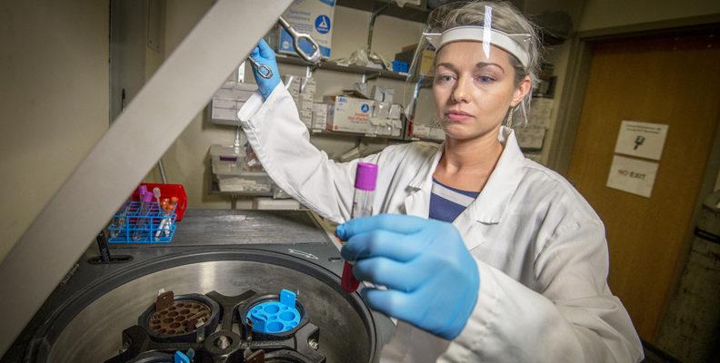 Elena Skornyakov in Sleep Lab