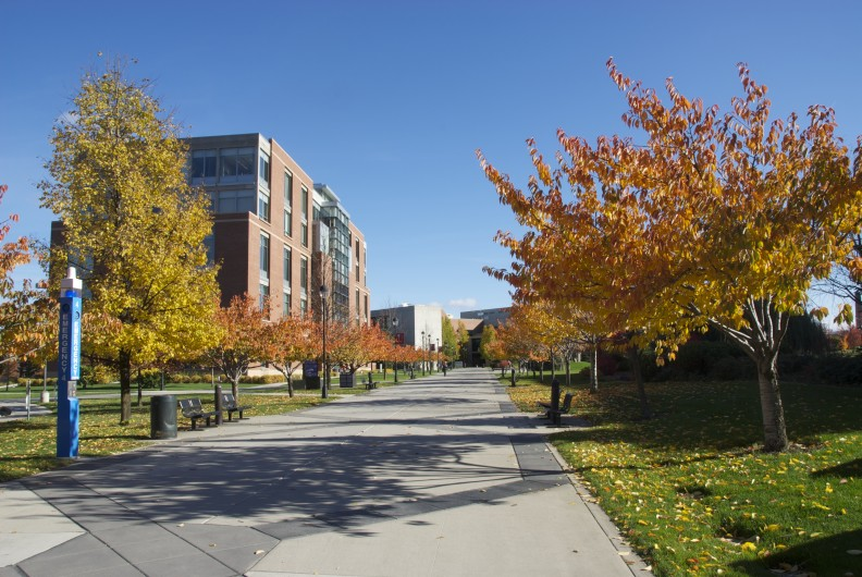 Spokane campus fall