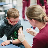 2015 immunization clinic volunteer