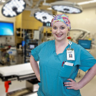 WSU College of Nursing-Ashley Ormsby nursing alumna