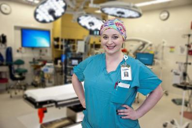 WSU College of Nursing-Ashley Ormsby nursing alumna