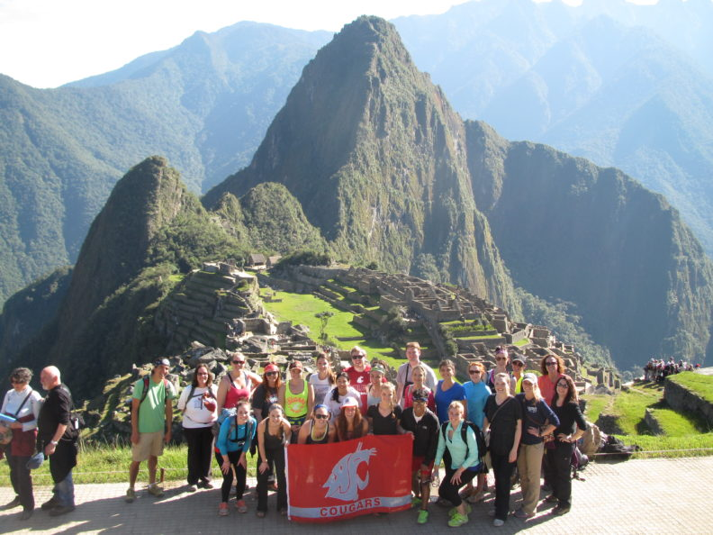 2014 WSU Nursing Peru team