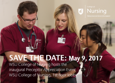 Preceptor Event Save the Date