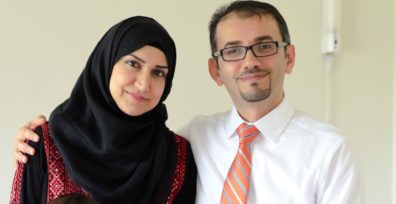 Yasmin Musa Al-Shannaq and Anas Mohammad both are getting PhDs from the WSU College of Nursing
