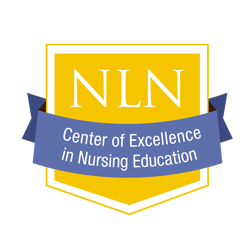 NLN Center of Excellence in Nursing Education Logo
