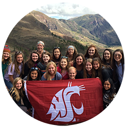 Cougs in Peru