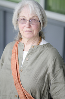 Portrait of Christine White, a standardized patient at the WSU College of Nursing