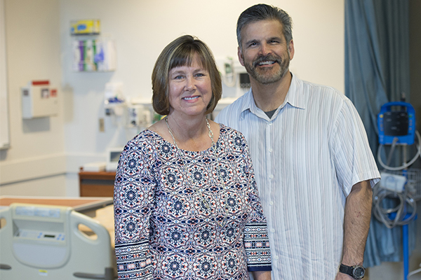 Mike and Stacey Munoz, standardized patients for the WSU College of Nursing