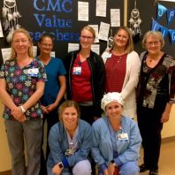 Group photo of nurses at Coulee Medical Center