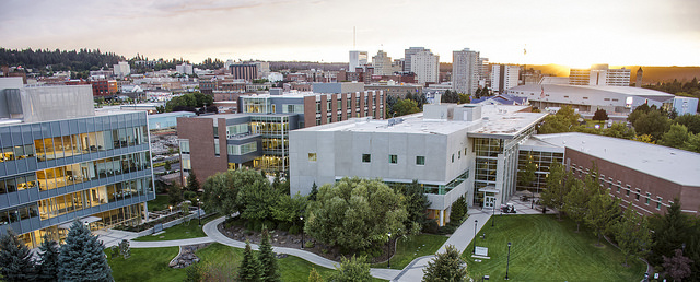 WSU Spokane Health Sciences campus