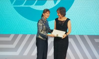 Dr. Janet Katz is inducted as a Fellow in the American Academy of Nursing on Oct. 7, 2017.
