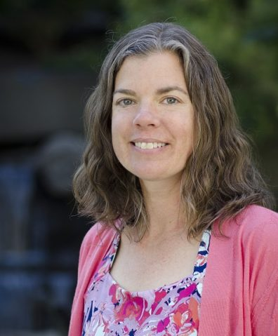 Portrait of Julie Postma, who specializes in environmental health and asthma