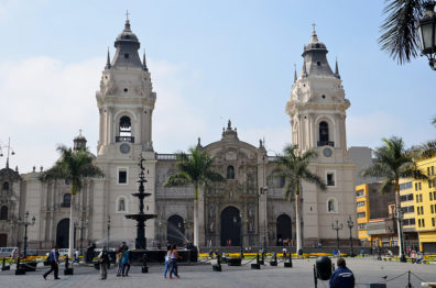 Streetscape in Lima